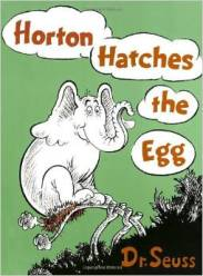 Horton Hatches the Egg  Book Cover