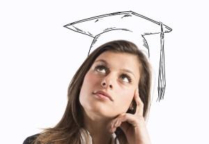 Graduate woman