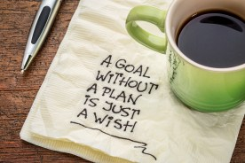 a goal without a plan is just a wish - motivational handwriting