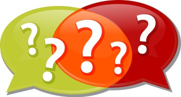 Illustration concept clipart questions queries dialog questions
