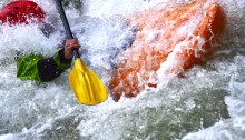 Coaching stress leadership turbulence white water