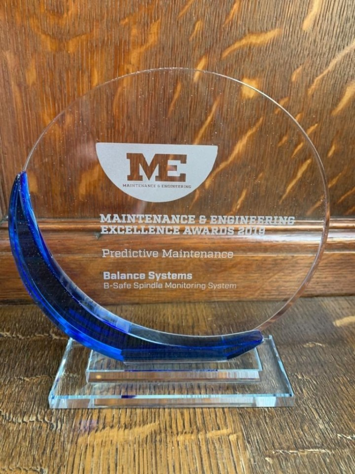 B-Safe Wins the Maintenance & Engineering Excellence Award