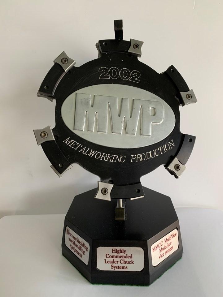 MWP Award for Best Workholding Equipment