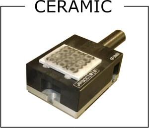 ceramic ice clamping