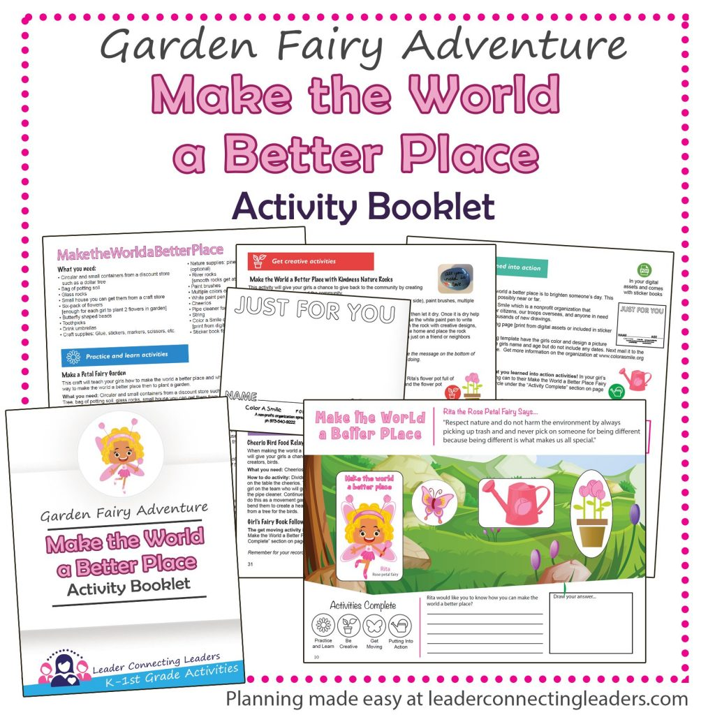 picture regarding Girl Scout Daisy Song Printable named 5 Enjoyable Actions In direction of Assist Your Gals Receive The Produce the Earth