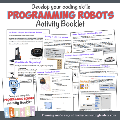 2nd - 3rd Grade Activity Booklets | Page 3 of 4 | Leader