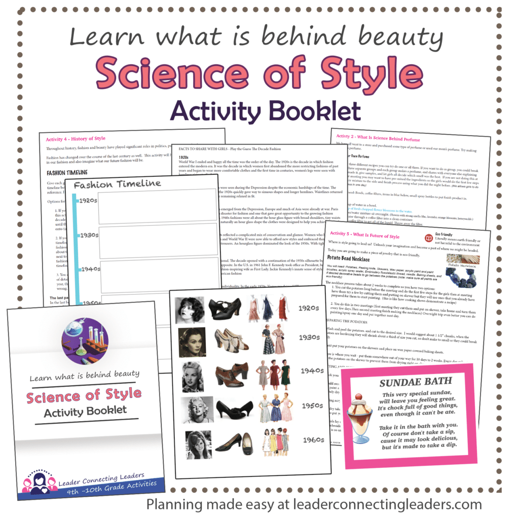 5 Fun Activities To Earn The Senior Science Of Style Badge