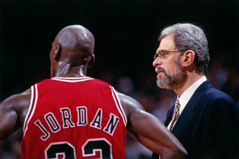 Michael Jordan et Phil Jackson aux prises avec les frassques de leur tête de mule