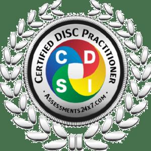 Badge de praticien DISC certifié