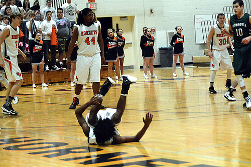 basketball foul photo