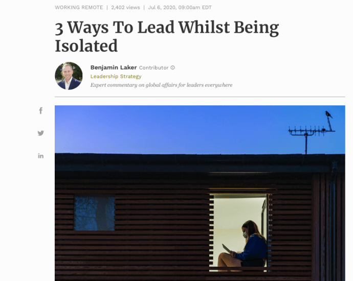 Ways to Lead