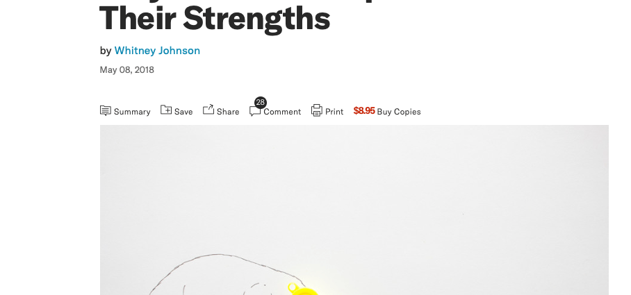 Why Talented People Don't Use Strengths