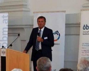 Mag. Wolfgang Vovsik, MIT-Austria beim Festakt des ÖBM