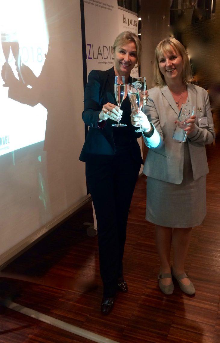 Bizladies Award Preisträgerinnen Mag. Ingrid Hödl und Dr. Judith Girschik