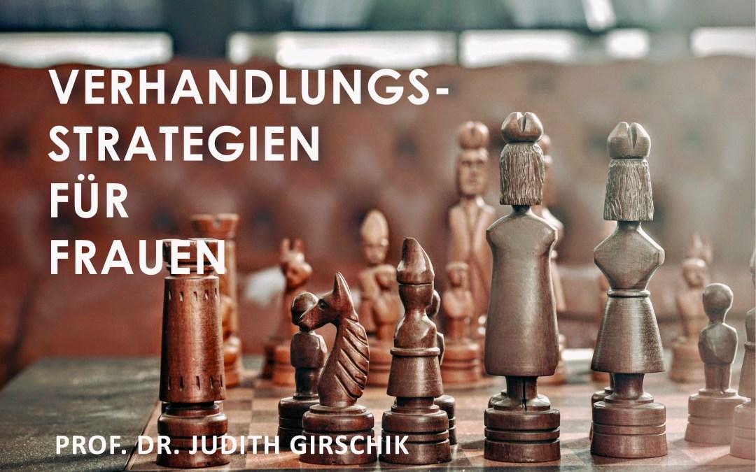 """Club Alpha Karriere: Vortrag """"Verhandlungstechnik für Frauen"""" von Dr. Judith Girschik"""