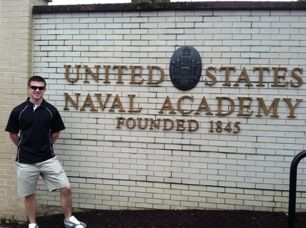 Mitch at US Naval