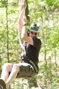 GrownUps Camp Zip Line