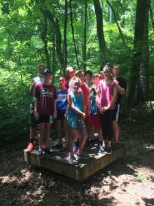 Fun in the Woods with Friends