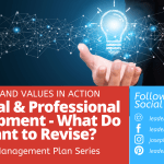 Personal and Professional Development – What Do You Want to Revise?
