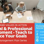 Personal and Professional Development – Teach to Reinforce Your Goals
