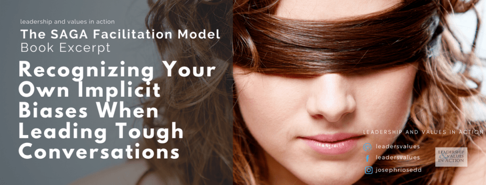 Book Excerpt: Recognizing Your Own Implicit Biases when Leading Tough Conversations
