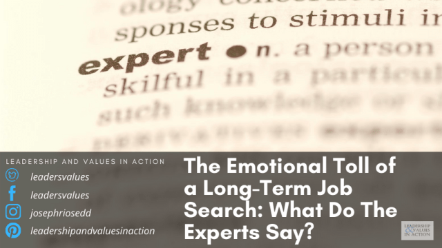 The Emotional Toll of a Long-Term Job Search: What Do The Experts Say?