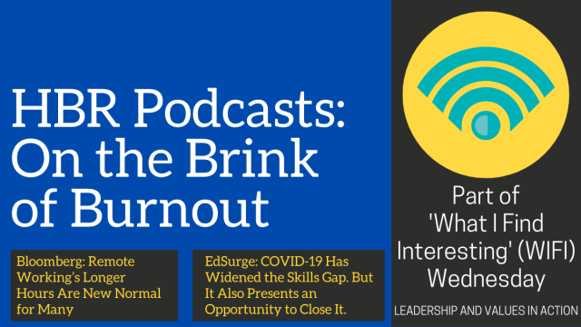 HBR Podcasts: On the Brink of Burnout