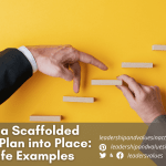 Putting a Scaffolded Learning Plan into Place: Real-Life Examples