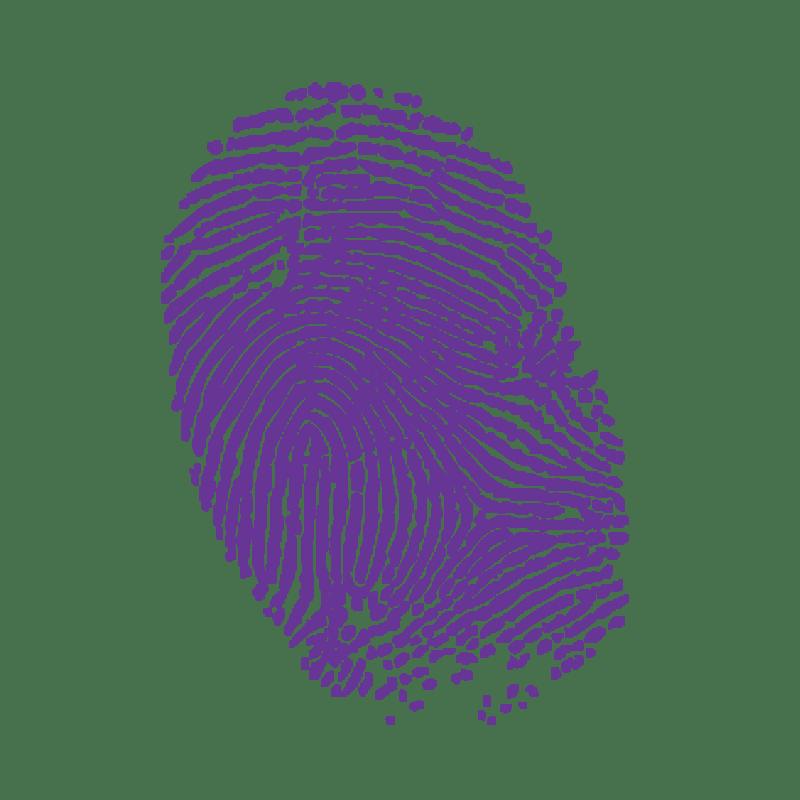 A thumbprint