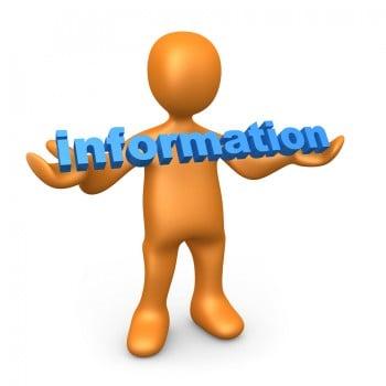 Information Drives Change