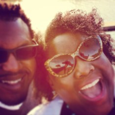 Michelle and Cole sunny