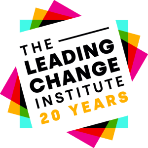 Leading Change Institute 20 Years logo