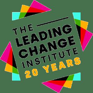 Leading Change Institute 20 Years logo