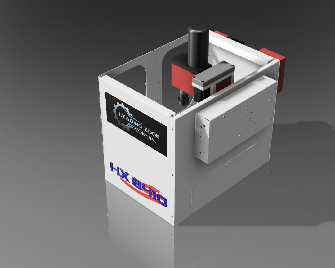 Benchtop Desktop CNC Machines - Leading Edge Industrial HX710 Turning Center - Front Door Closed