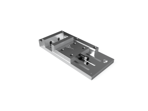 """Leading Edge Industrial Low Profile 10"""" Vise with Soft Jaw"""