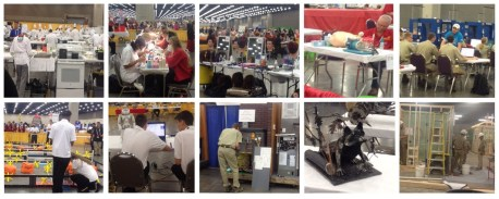 A compilation of photos from the 2017 SkillsUSA National Leadership and Skills Conference in Louisville, KY.
