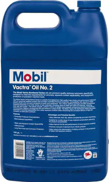 Mobile One Vactra Oil Back