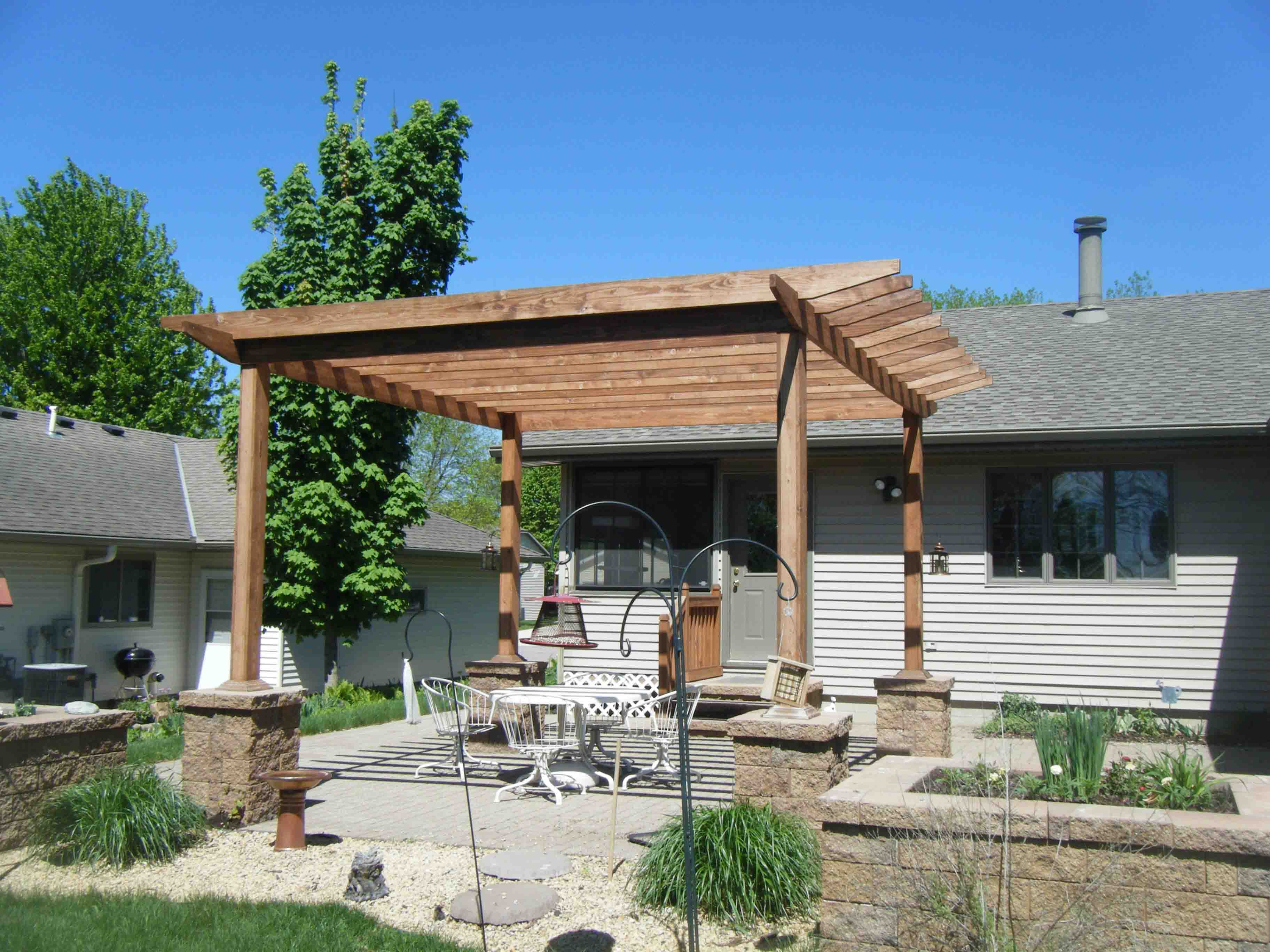 Landscaping ideas: Pergolas - Leading Edge Landscapes on Outdoor Living And Landscapes id=25644