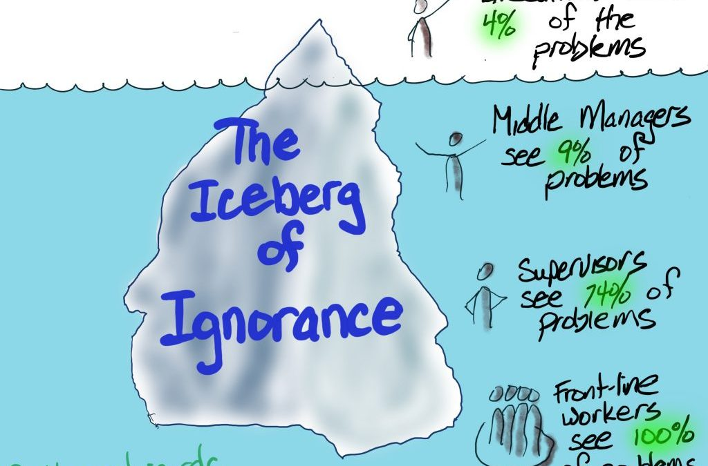 Spotting the Iceberg of Ignorance