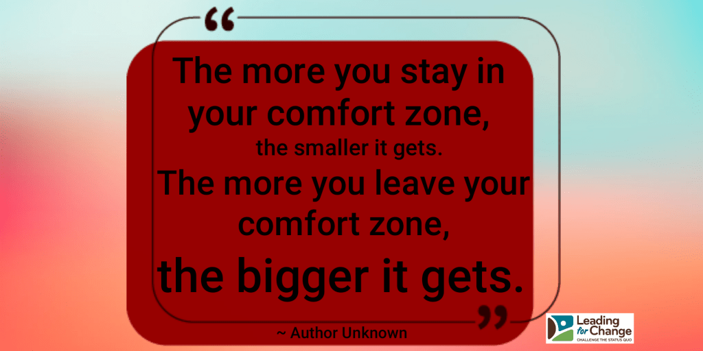 Comfort is highly overrated