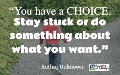 What choice are you making?