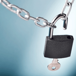 leading-to-unlock-padlock-chain-key