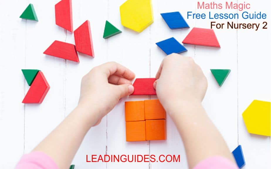 Lesson Note Nursery 2 First Term Mathematics Week 1