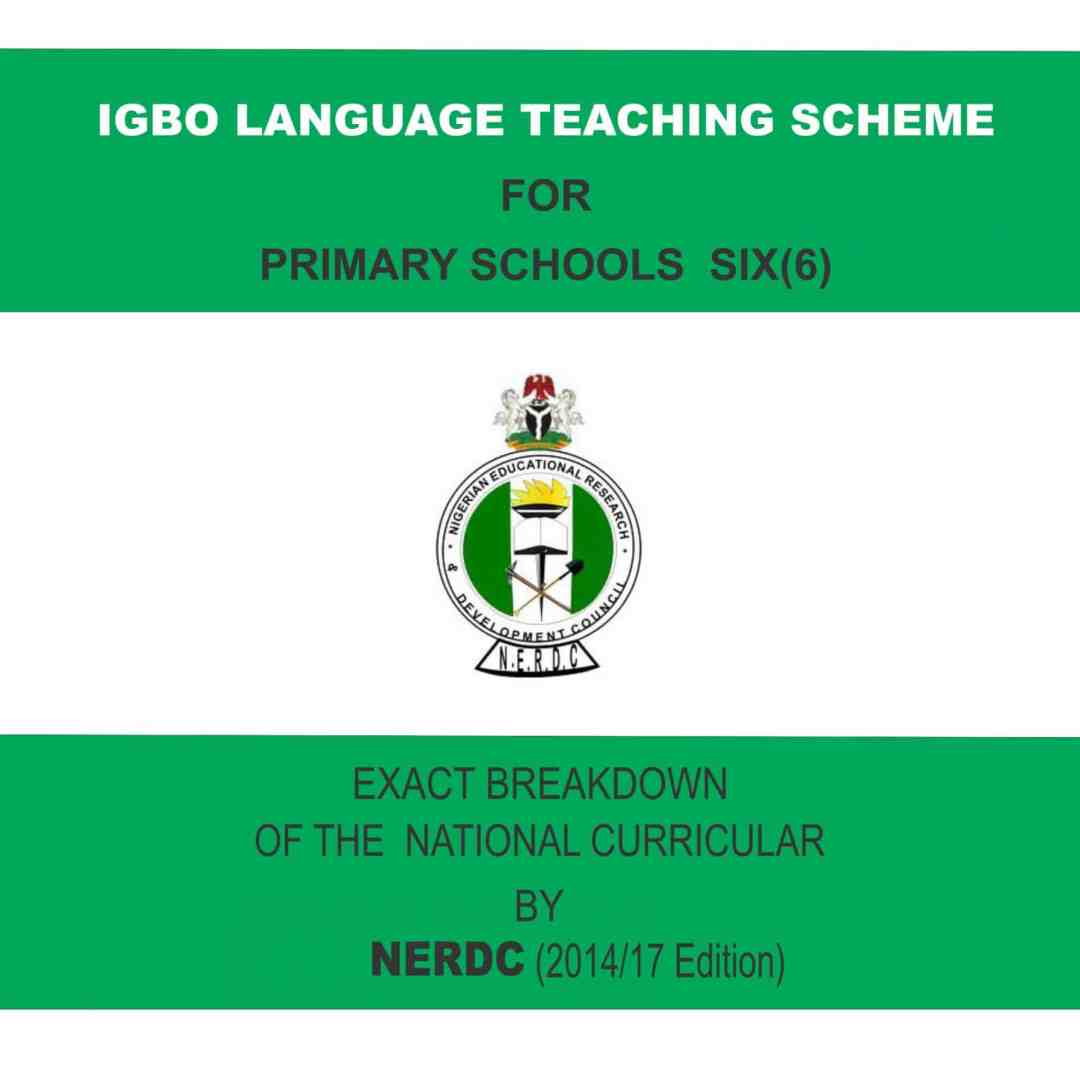 Primary 6 Igbo Language Scheme
