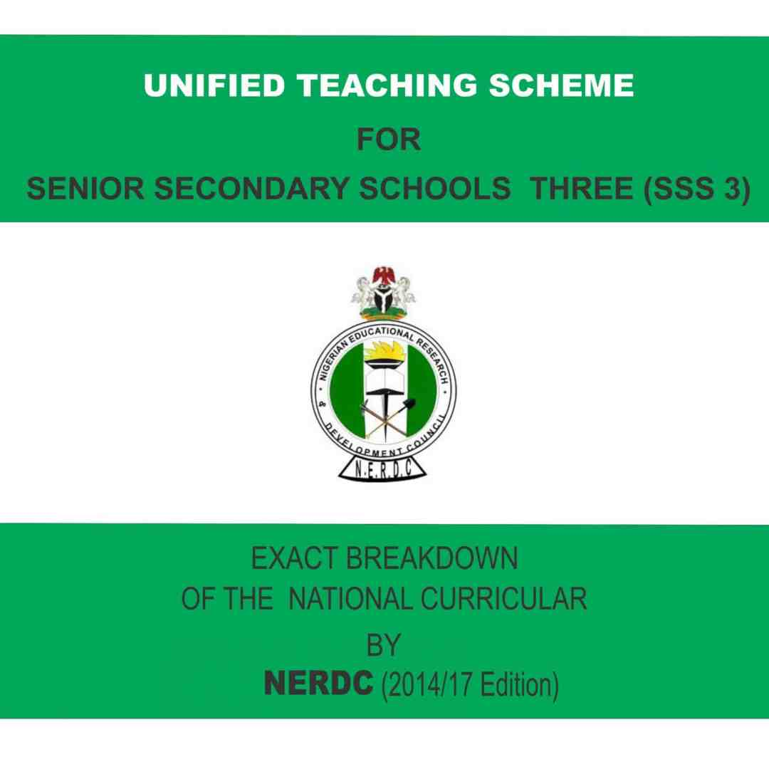 Unified Teaching Scheme for SSS 3