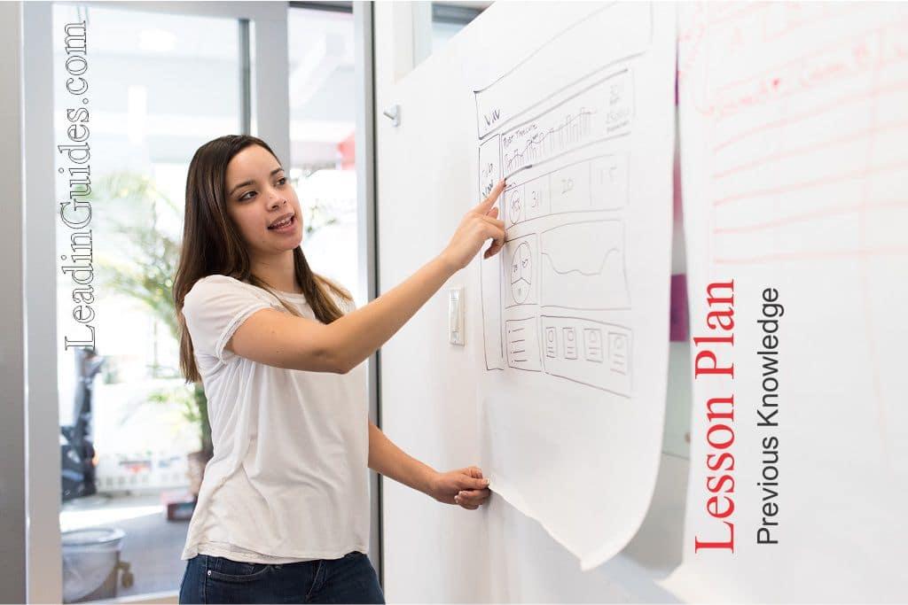 Lesson Plan Previous Knowledge Guides - LeadinGuides