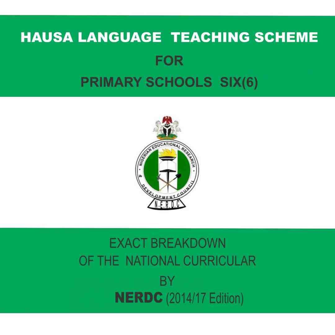 Primary 6 Hausa Language Scheme