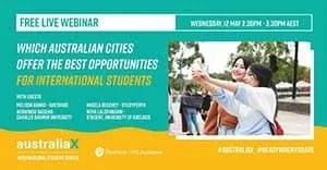 Australian cities offer in International Students