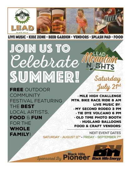 Lead Mountain Nights July 2018