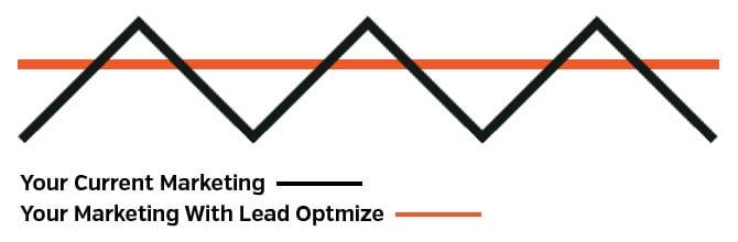 Lead in marketing